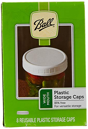 Ball Wide-Mouth Plastic Storage Caps
