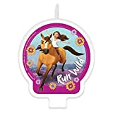 amscan Spirit Riding Free Birthday Cake Character Candle - 1 pc