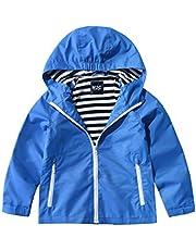 M2C ジャケット キッズ マウンテンパーカー ウインドブレーカー アウター 子供服 カジュアル 撥水 防風 防寒 子ども