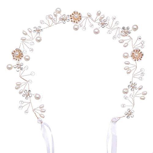 Headdress Bruid Haarband Handgeweven Bloem Haarband Bruiloft Accessoires Bruid Bruiloft Hoofd Sieraden Gift