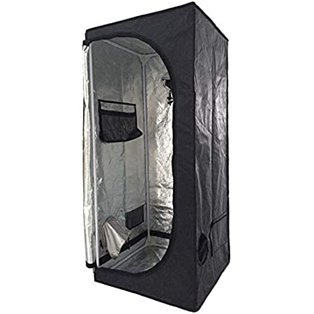 """SunStream Hydroponic Grow Tent 40/""""x40/""""x80/"""" for Indoor Seedling Plant Growing"""