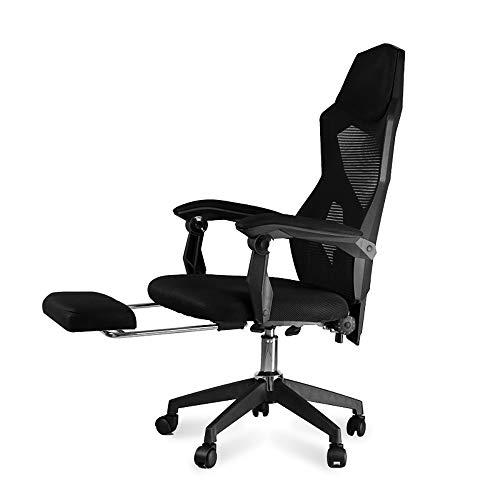 WZYJ Silla de la computadora Silla de Oficina en casa cómodo Juego sillón Jefe por Internet Cafe e