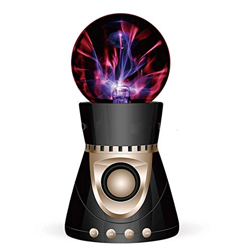 Lámpara De Iones Electrostática Global Magic Plasma Fantástica Iluminación Bola Mini Estéreo Inalámbrico Altavoz Bluetooth