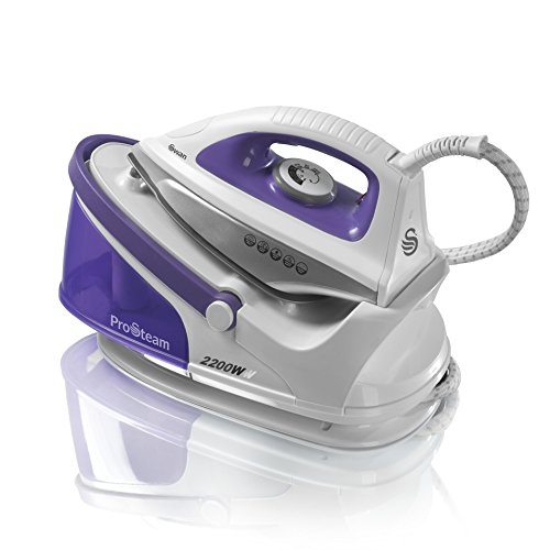 Swan ProSteam Steam Generator Iron with Non Stick Ceramic Soleplate and 100 g/min Continuous Steam,...