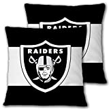 Deztibos Throw Pillow Covers Super Bowl Pillowslip Football Team Pillow Protecter Soft Square Pillowcase with Hidden Zipper for Home Decor Sofa Car 18 x18inches