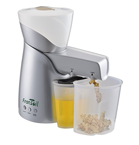 Frantoil, estrattore d'olio a freddo per semi oleosi e frutta secca (Argento)