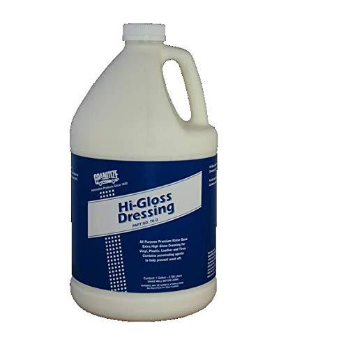 Granitize T-6 Auto High Gloss Dressing - Rubber-Vinyl-Plastic - 1 Gallon