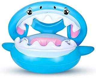 comprar comparacion Flotador para Bebé con Sombrilla Ajustable Barco Anillo de NatacióN Inflable de la Piscina del Bebé Flotador de NatacióN p...