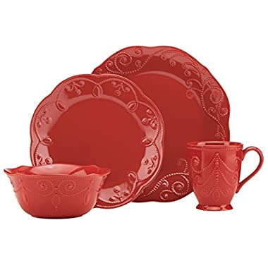 Lenox French Perle Cherry 4 Piece Place Setting