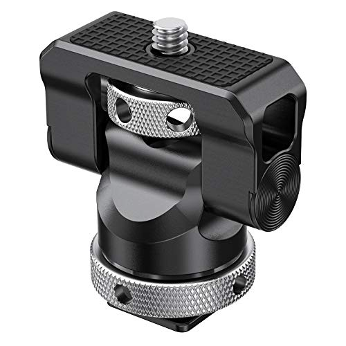 SMALLRIG モニターホルダーマウント コールドシュー型モニターサポート 左右360度回転可能 上下140度調節可能 -BSE2346