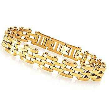 Invicta 30337 Men s Elements Yellow Gold Plated SS Bracelet Watch