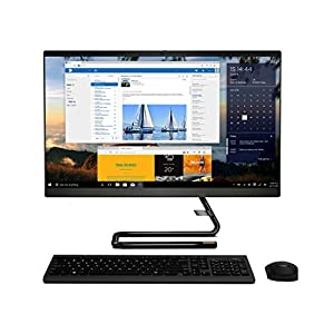 """Lenovo IdeaCentre A340 23.8"""" FHD IPS All-in-One Desktop (10th Gen Intel Core i5/8GB/1TB HDD+256GB SSD/Win 10/Office/with…"""