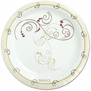 SOLO MP6J8001PK Symphony Paper Dinnerware, Mediumweight Plate, 6-Inch, Tan, 125/Pack