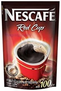 NEW Instant Coffee Nescafe Red Cup Drinking - Original 200 Gram. Amazing of Thailand