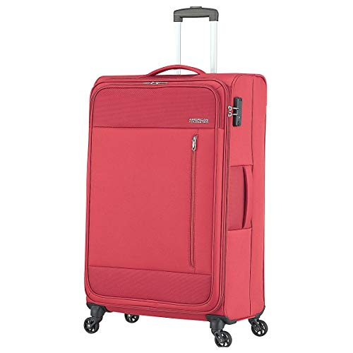 AMERICAN TOURISTER AT Wave Spinner 80/30 Brick Red VALIGERIA UOMO Trolley 95G*00004