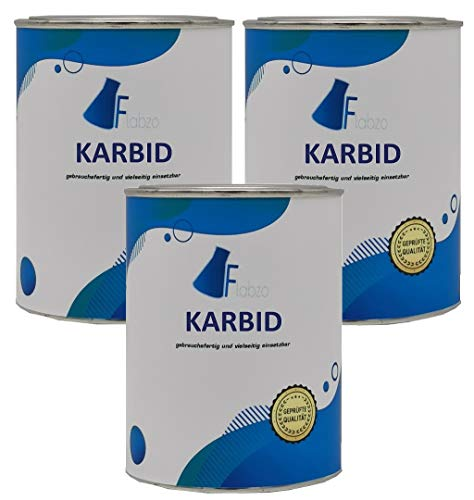 Flabzo 1,4 Kg Karbid der Marke 4260626392521 Für viele Anwendungen