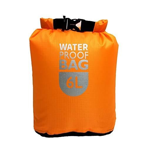ZhangyJ Bolsa seca impermeable con correa ajustable, bolsa de almacenamiento en seco para nadar, a la deriva, kayak, playa, rafting, canotaje, surf, ciclismo, senderismo, camping y pesca