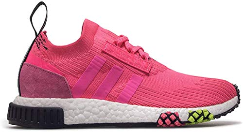 Adidas NMD_Racer PK, Zapatillas de Deporte para Niños, Rosa (Rossol/Rossol/Negbás 000), 36 2/3 EU