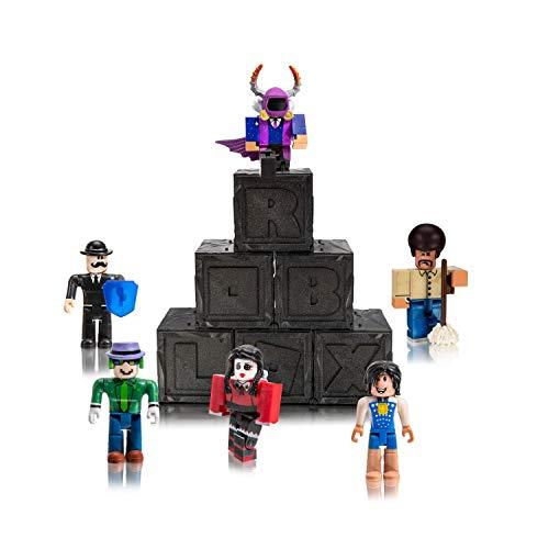 Roblox ROB0312 Spielfiguren Mystery Boxen Set, 6 bewegliche Actionfiguren mit Zubehör und Accessoires, Original Figuren Pack Serie 7 zum Sammeln und Spielen, für Kinder ab 6 Jahren