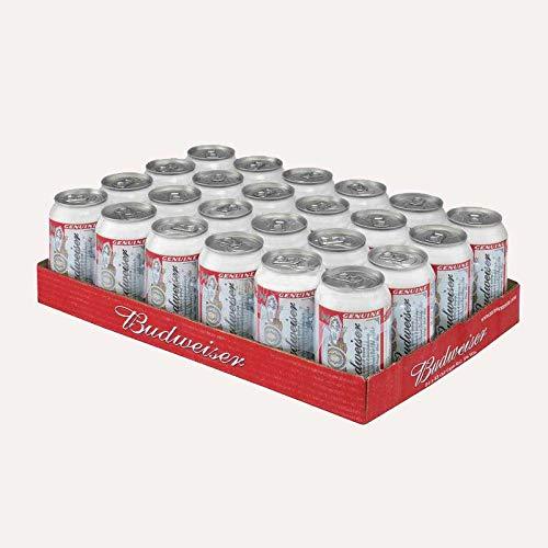 Budweiser Amerikanisches Bier 24x33cl (Pack 24 Dosen)