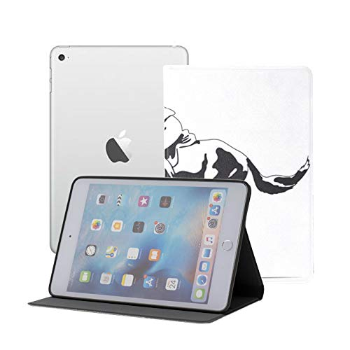 Ipad Mini Case Equestrian Sport Eventing Competition Rider Horse Case for Ipad Mini 3/2/1,Ultra Slim Lightweight Smart Case Cover Stand with Flexible Soft TPU Back Cover[auto Sleep/Wake]