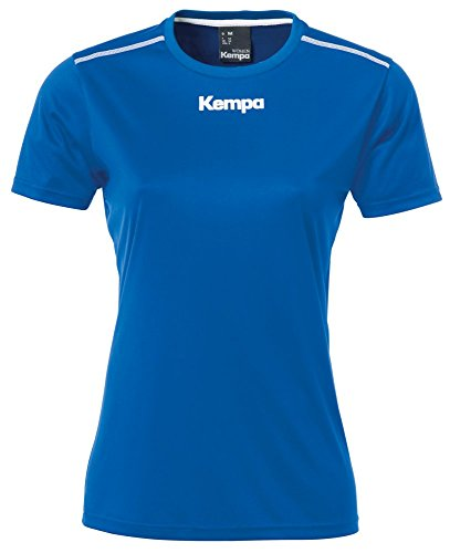 FanSport24 Kempa Handball Polyester Shirt Kurzarm Training Top Frauen dunkelblau Größe L