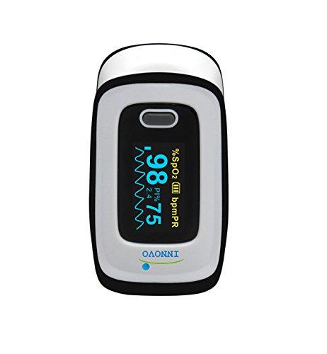 Innovo Medical Fingertip Pulse Oximeter Blood Oxygen Pulse Oximetry Heart Rate Pulse Rate