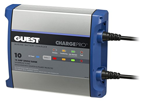 Guest On-Board Battery Charger 10A / 12V; 1 Bank; 120V Input, 2710A