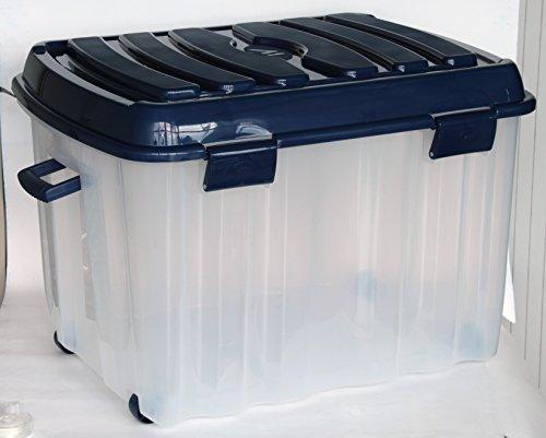 Mondex XXL Profi Rollenbox 142 Liter mit Deckel #PLS536V - Qualität Made in Europe