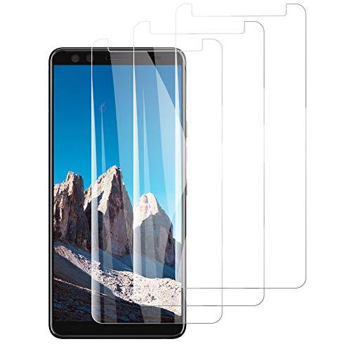 PUUDUU Panzerglas Schutzfolie für HTC U12+, [3 Stück] Bildschirmschutzfolie für HTC U12+, HD Klar Panzerglasfolie, Anti-Kratzen, 9H Festigkeit, Anti-Bläschen