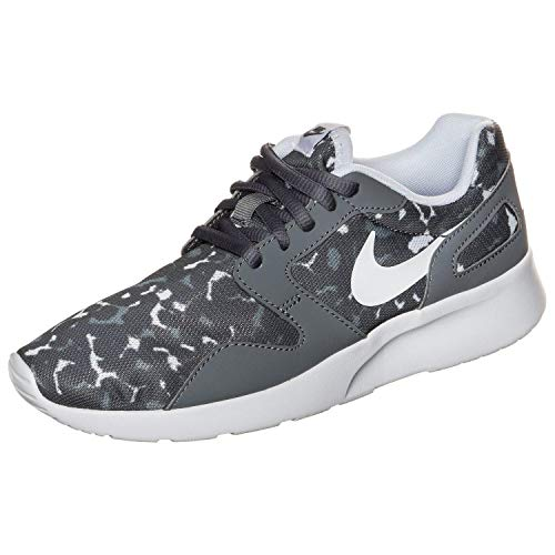 NIKE NikeKaishi Run Print - Zapatillas Mujer, Mujer, Cool Grey/White-Wolf