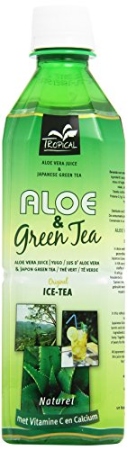 Tropical - Beber con Aloe Vera y Te' Verde, con la adición de vitamina C - 500 ml