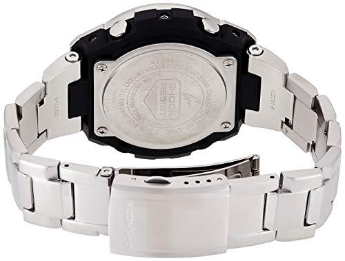Casio Men's G SHOCK Quartz Watch with Stainless-Steel Strap, Silver, 25.85 (Model: GST-S110D-1ADR (G604)