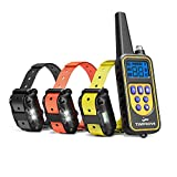 Oxygentle 330 Yards Range Remote Dual Dog Training Collar, 2020 Version Rechargeable