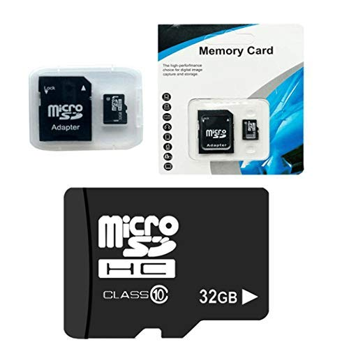Goodfans 32G MicroSD Cards 10 High Speed Memory TF Card with Adapter Mobile Phone MicroSD Cards