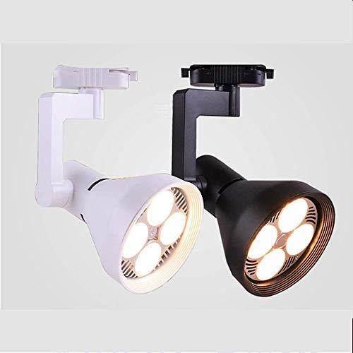 LED-Schienenstrahler, Shopping-Mall-Fenstergitter 24-W-Bekleidungsgeschäft LED-Schienenleuchten, weiß