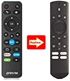 Primote Basic Replacement IR Remote for Insignia Smart TV NS-32DF310NA19 NS-43DF710NA19 NS-50DF710NA19 NS-55DF710NA19 NS-24DF310NA19 NS-39DF310NA21 NS-43DF710NA21 NS-50DF711SE21 (No Voice Search)
