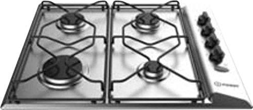 Indesit Einbau-Kochfeld Gas 4 Flammen L 58 cm Edelstahl PAA 642IX/I WE Luft