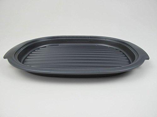 TUPPERWARE UltraPro Grillplatte Ultra Pro Grill Platte grau Grilleinsatz