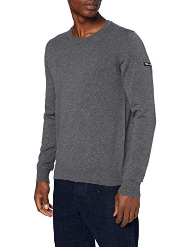 Teddy Smith 11514371D Sweater, Gris (Anthracite Chine), Medi