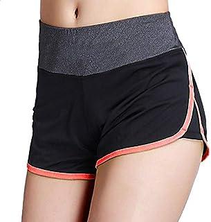 Women Sports Shorts Gym Workout Waistband ny Yoga Shorts Summer Jogging Trouser:O, M