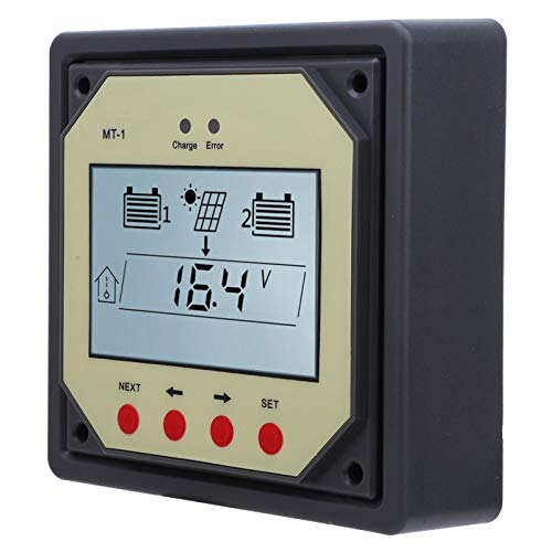 Shipenophy TTL232 LCD-pantalla solar controlador de carga medidor regulador solar para el medidor de monitoreo de carga solar (MT1)