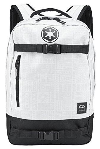 Nixon Herren Rucksack Del Mar Backpack SW - Stormtrooper White , Größe:ONESIZE
