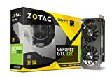 Zotac GeForce GTX 1060 - Tarjeta Grafica (3 GB, GDDR 5, 192 bit) Color Negro