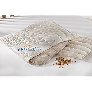 PROCAVE Spelt Pillow with Cotton Pillow