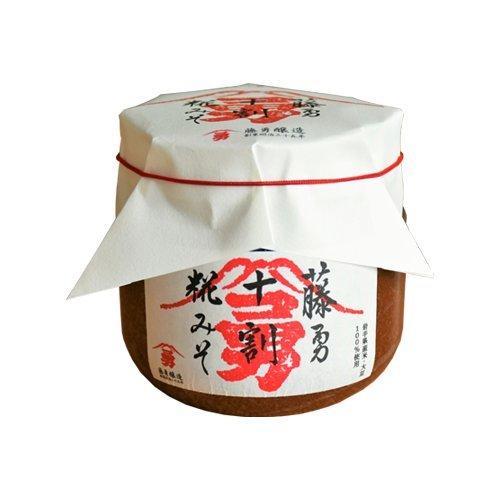 無添加 藤勇十割糀味噌(赤こし) 500g
