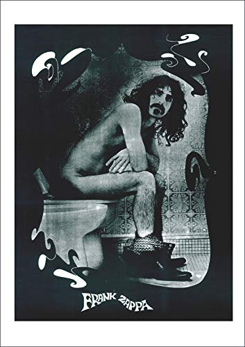 Close Up Frank Zappa: Toilette | UK Import Poster [59 x 84 cm]