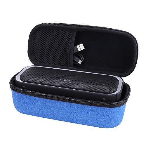 Aenllosi Hard Storge Case for DOSS SoundBox Pro Portable Wireless Bluetooth Speaker V4.2 (Blue)