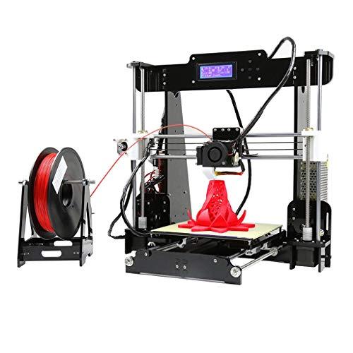 Impresora Casera De Bricolaje 3D, Tamaño De Impresión 220 * 220 * 240 Mm A8 De Alta Precisión Industria Fabricante Educación, 110-220V