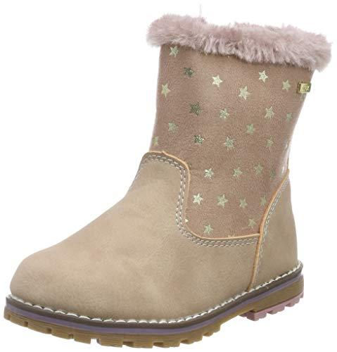 TOM TAILOR Unisex, für Frauen Schuhe Stiefel mit Sternen-Print Nude, 28